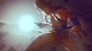 Goku-dama by AldgerRelpa