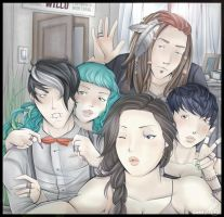 Band Selfie by Decora-Chan