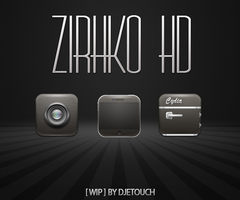 WIP  ZirhkO HD by DjeTouch59