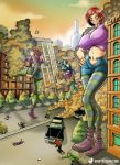 When Good Witches Go Wicked by giantess-fan-comics