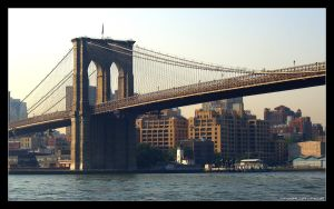 Brooklyn Bridge by cvhuie