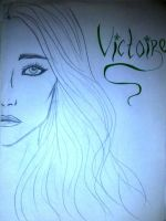 Victoire black and white by Estelior