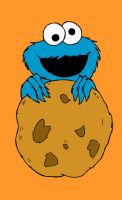 Cookie monster doodle by donner