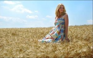 Lost In Wheat field by mayawhite