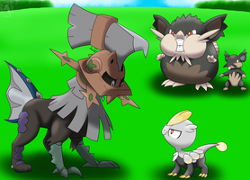 4 Other Alola Pokemon and Alola forms