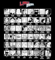 LASTMAN CHARACTERS LIST by Balak01