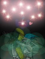Perry + Rachel be together forever by Queen-Koopa