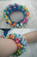 My First 3D Kandi Cuff by kookiekween99