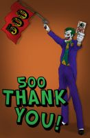 Joker Says Thanks by SLewis18