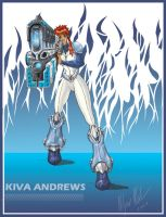Kiva Andrews with Big F Gun by walcor
