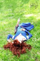 Merida is lying on Highland hills.. by avrien-huggin