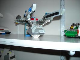 Lego Star Trek Enterprise NCC-1701-A 2 by ENT2PRI9SE