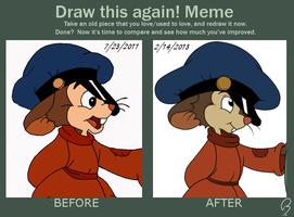 Draw this again! Meme: Fievel by F4TH0M