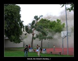 The School Is burning... I by trix2008