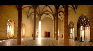 The Interior Of A Gothic Building Stock In Palma by skarzynscy