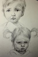 two kids by EvelynY