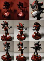 Shadow the Hedgehog LED by Archaedin