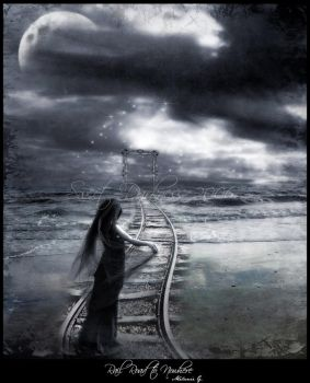 Rail Road to Nowhere II by MySweetDarkness