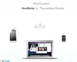 MacBook Air Contest 4 by turnpaper