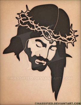 Jesus Face by hassified
