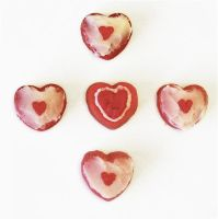 Pieces of Heart + Heart Container Mini Cakes 2 by Cassandrina