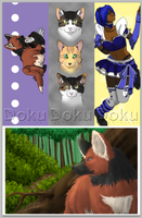 Pre-Made Bookmarks and Print by DokuPRODUCTIONS