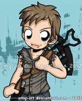 Daryl - The Walking Dead by amy-art