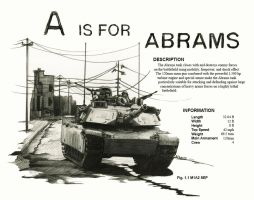 A is for Abrams by aaronprovost