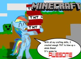 MLP Minecraft! by 9mmBrony