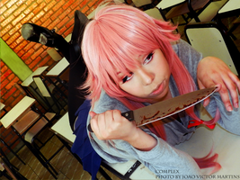 Gasai Yuno from Mirai Nikki ~ by jessicacomplex