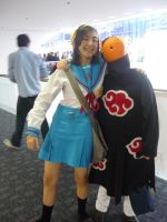 Haruhi and Tobi by CaliforniaCosplayers