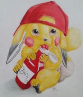 More Pikachu by MidnightHuntingWolf