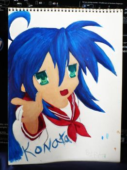 my Konata panting 1 by minnymoon1360