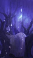 blue forest by noruoki