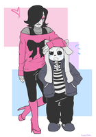 UT: Height Difference and Fashion by kanarichan