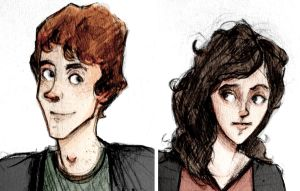 Ron and Hermione by hannahhillam