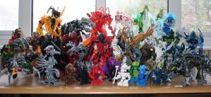 Bionicle MOCs - December 2009 by Rahiden