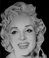 Marilyn Monroe Finished by Dodos24