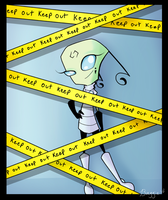 .:Keep Out:. by BagToon