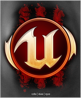 Unreal Tournament Badge wPaper by Th3-ProphetMan