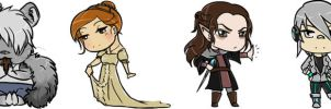 Special mention prizes- small chibis by Lilith-the-5th