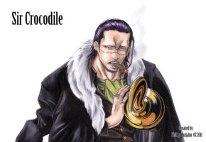 Sir Crocodile by Abbadon82