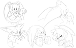 Sonic Characters by Sombaholic