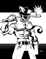 DSC Axe Cop by samax