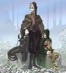 The Ladies of SoulsBorne by PawFeather