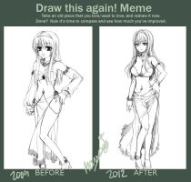 Meme - Draw this again#1 by MONO-Land