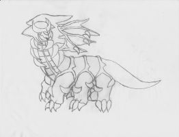 Giratina, my favorite by zule-of-fire
