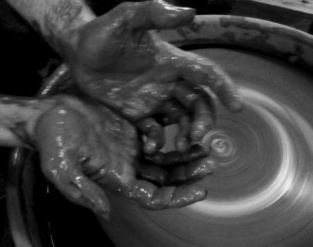The Potter's hands by sullyk