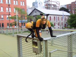 otakuthon 2012 fence pose by Black-Cat-Creativity