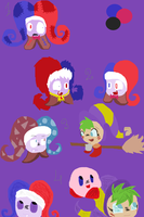 ~Kirby~Testing designs by kirbyemma